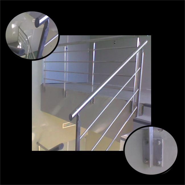 Baranda escalera imagui - Pasamanos escalera interior ...